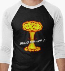 Sudo rm -rf / Men's Baseball ¾ T-Shirt