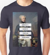 Lafayette- America's Fav Fighting Frenchman  Unisex T-Shirt