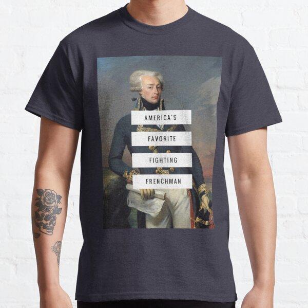 Lafayette - Français de combat Fav Favourite T-shirt classique