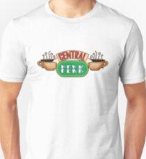 Friends - Central Perk Chrome Green Logo T-Shirt