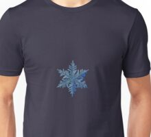 Snowflake photo - Winter is coming! Unisex T-Shirt