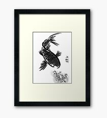 Fish acrylic  Framed Print