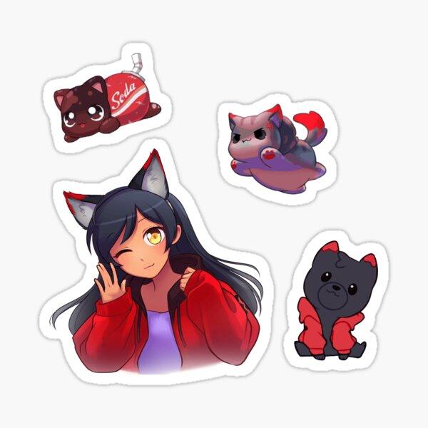Aphmau Meow Sticker Pack Sticker