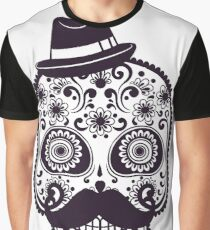 Mr. Sugar Skull Graphic T-Shirt