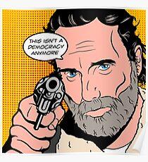 Rick Pop-Art Poster