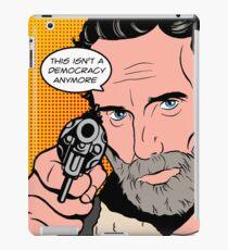 Rick Pop-Art iPad Case/Skin