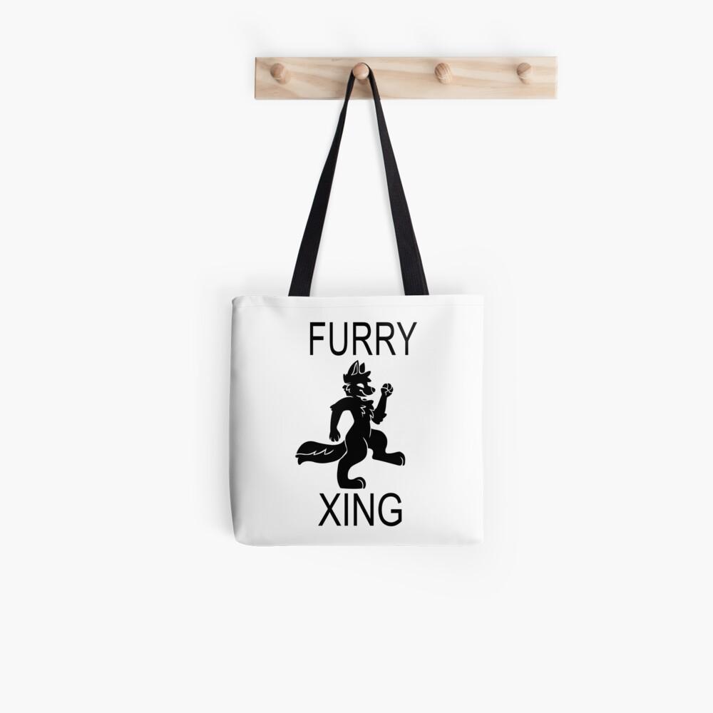 FURRY XING Bolsa de tela