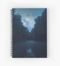Moonrise Spiral Notebook