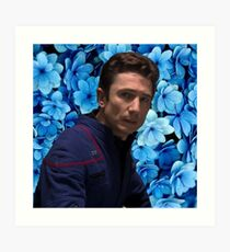 Floral Malcolm Reed Art Print