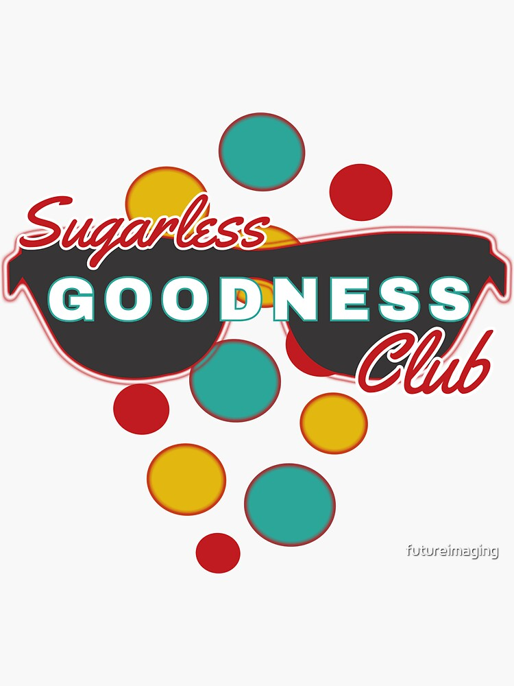 Sugarless Goodness Club | Colorful Dots | Fun | Expressive by futureimaging