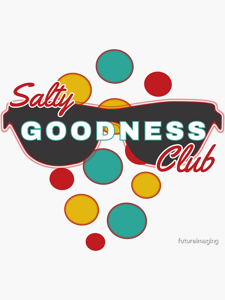 Salty Goodness Club   Colorful Dot accessories   Fun   Expressive by futureimaging