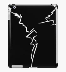 Spike Line Silhouette  iPad Case/Skin