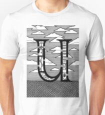 Letter U Architecture Section Alphabet T-Shirt