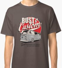 Rust & Custom Bay Window Campervan Classic T-Shirt