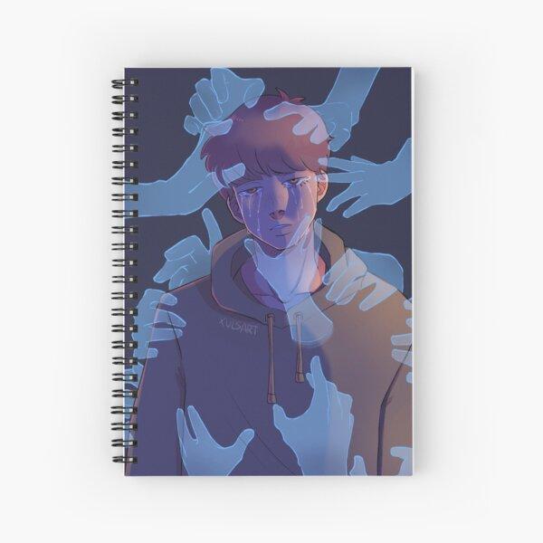 Overwhelmed - Dream fanart Spiral Notebook