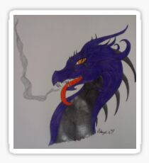 Poison Dragon Sticker