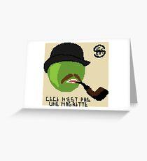 Ceci n'est pas une Magritte Greeting Card