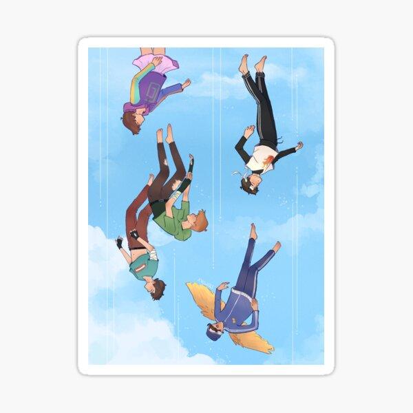 Falling - Feral Boys Sticker