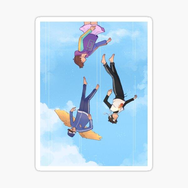 Falling - Karlnapity Sticker