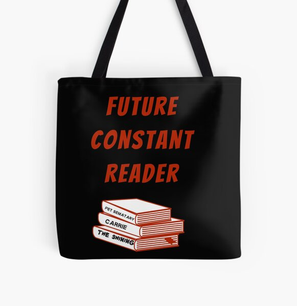Future Constant Reader Stephen King Fan All Over Print Tote Bag