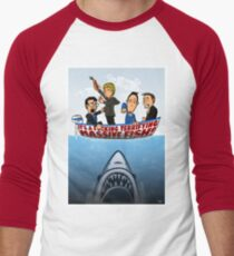 Fish Punch Men's Baseball ¾ T-Shirt