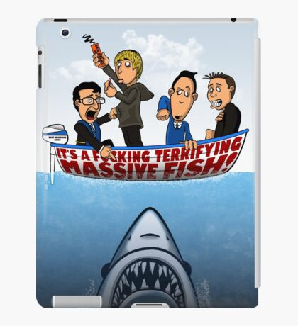 Fish Punch iPad Case/Skin