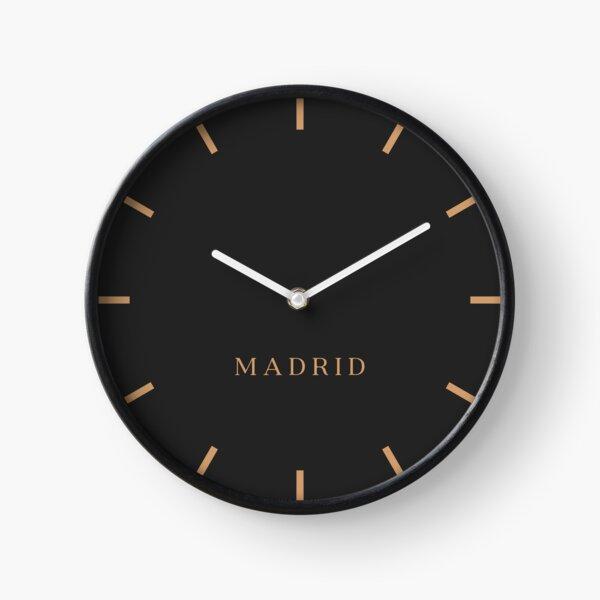 Madrid Stock Market Time Zone Newsroom Wall Clock Clock