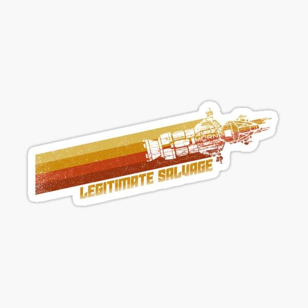 Legitimate Salvage Sticker