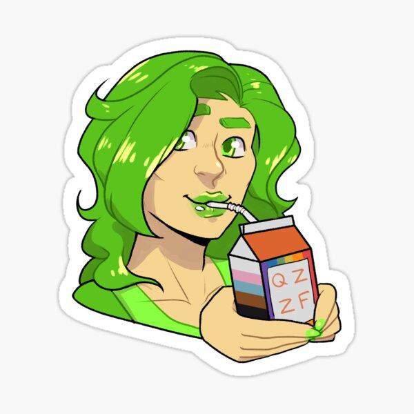 Lime Juice Sticker