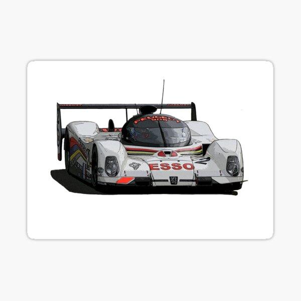 Le Mans Peugeot 905 Sticker