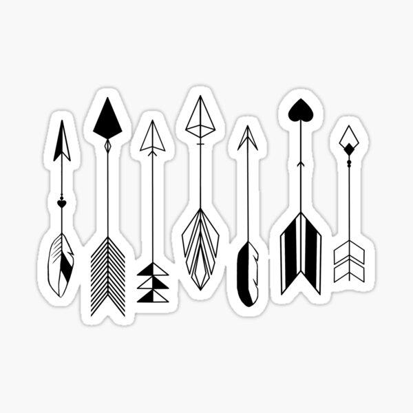 Be Brave Little Arrow Sticker
