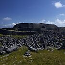 Dun  Aengus Fort, Inishmore, Aran Islands   by George Row