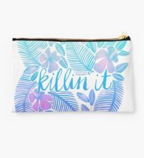 Killin' It – Turquoise + Lavender Ombré Studio Pouch