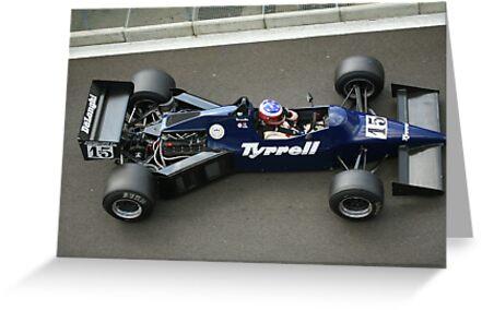 Tyrell F1 Historic by jonbunston