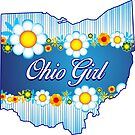 OHIO GIRL FLOWERS CLEVELAND COLUMBUS CINCINNATI DAYTON AKRON TOLEDO by MyHandmadeSigns