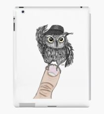Owl of education iPad Case/Skin