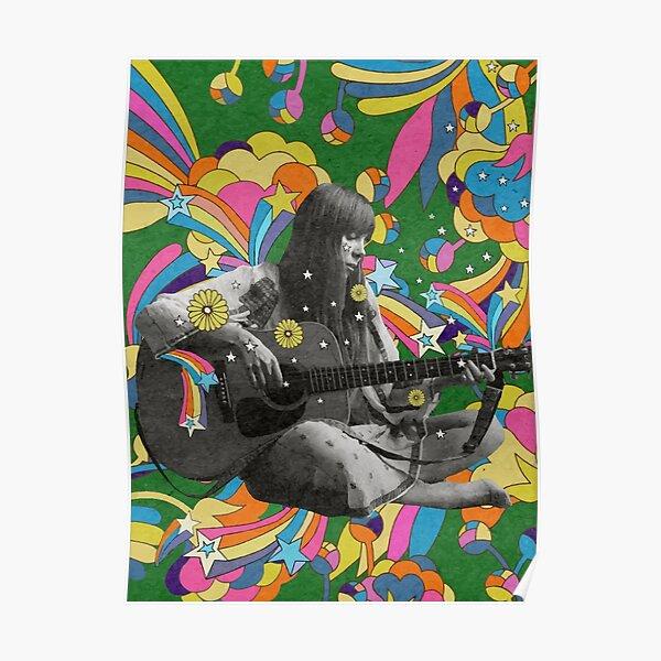 Joni Mitchell The Living Legend Poster