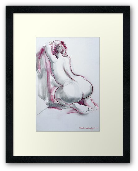 Figure in Pink and Grey by Stephen Gorton