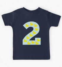 Duckling number 2 blue Kids Clothes