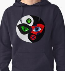 Miraculous Ladybug Yin Yang Pullover Hoodie
