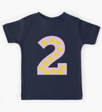 Duckling number 2 pink Kids Clothes