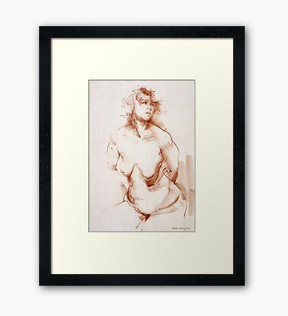Shanti Framed Print