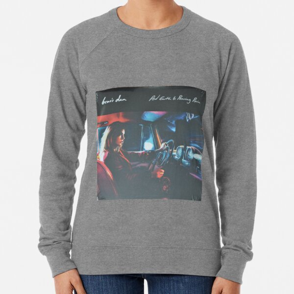 Bear's Den - Red clay and Pouring rain - Vinyl sleeve Lightweight Sweatshirt