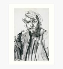 David Boyd (Black Pastel) Art Print