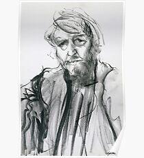 David Boyd (Black Pastel) Poster