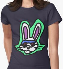 Zef - Bunny Womens Fitted T-Shirt