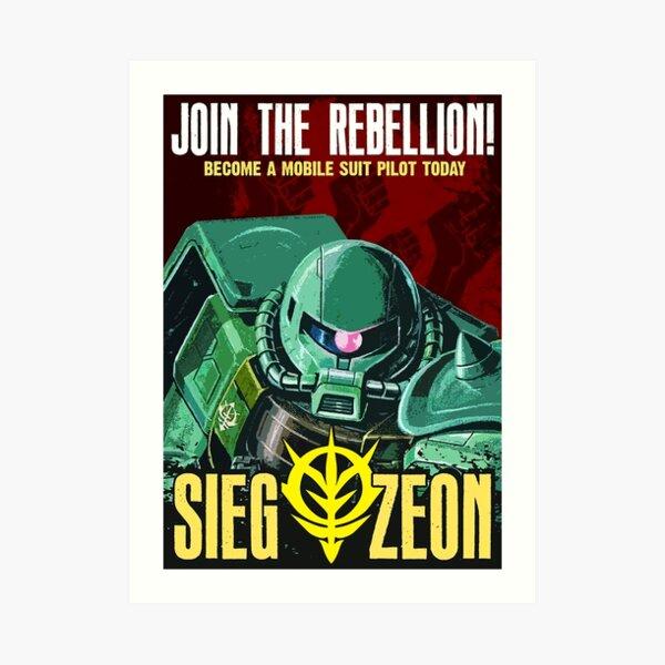 Art Sieg Zeon Deco Art Print