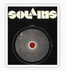 Solaris poster Sticker