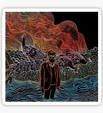 Trippy Album Art Sticker