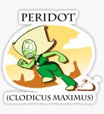 Peridot (clodicus maximus) Sticker